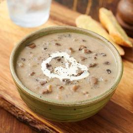 Mushroom & Tarragon Soup
