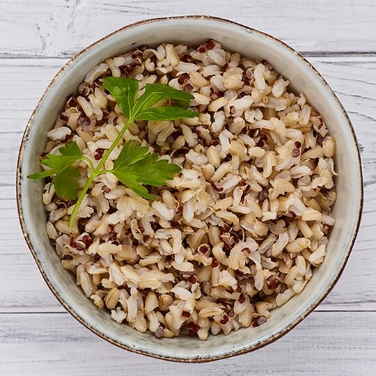 Wholegrain Rice with Red Quinoa