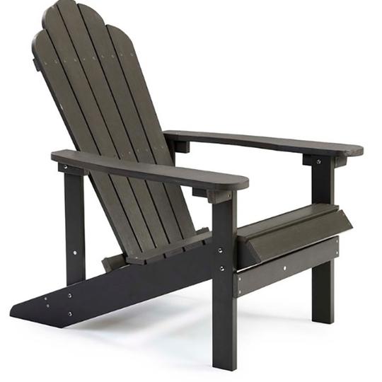 Henley Adirondack Chair - Dark Grey