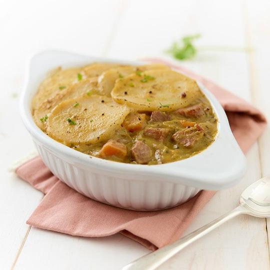 Pea & Ham Hotpot