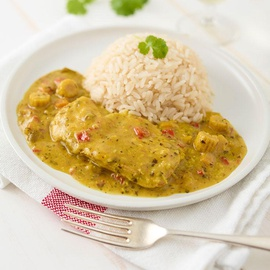 Chicken Lemon Ginger with Rice