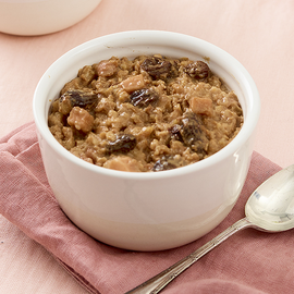 Apple and Raisin Oats