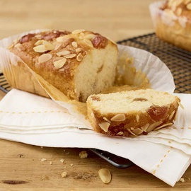 Cherry Bakewell Loaf