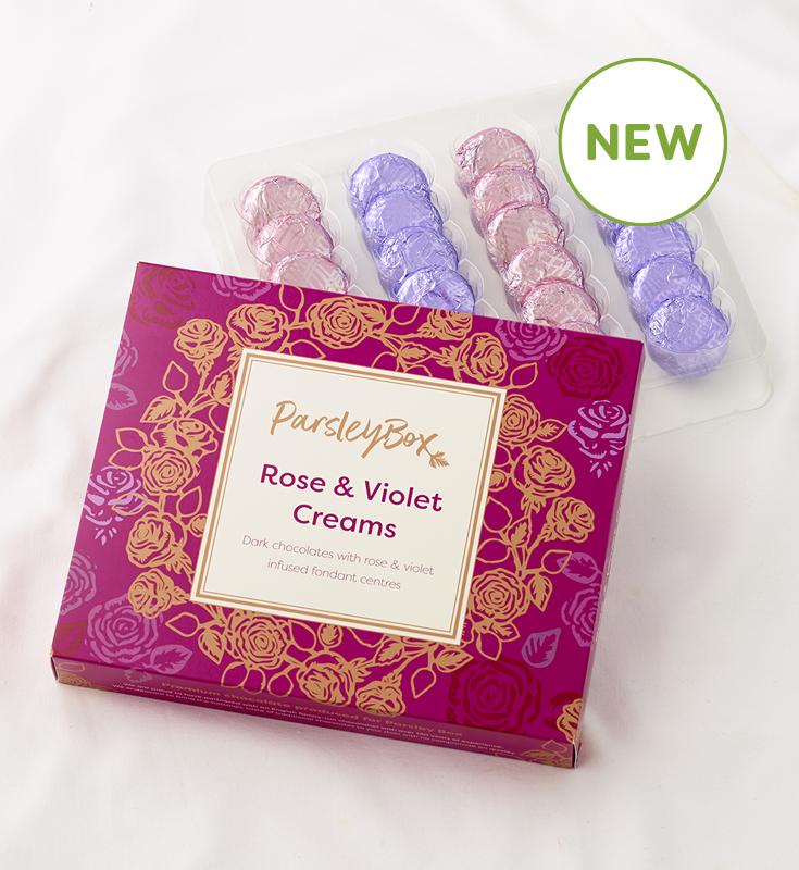 Rose & Violet Creams
