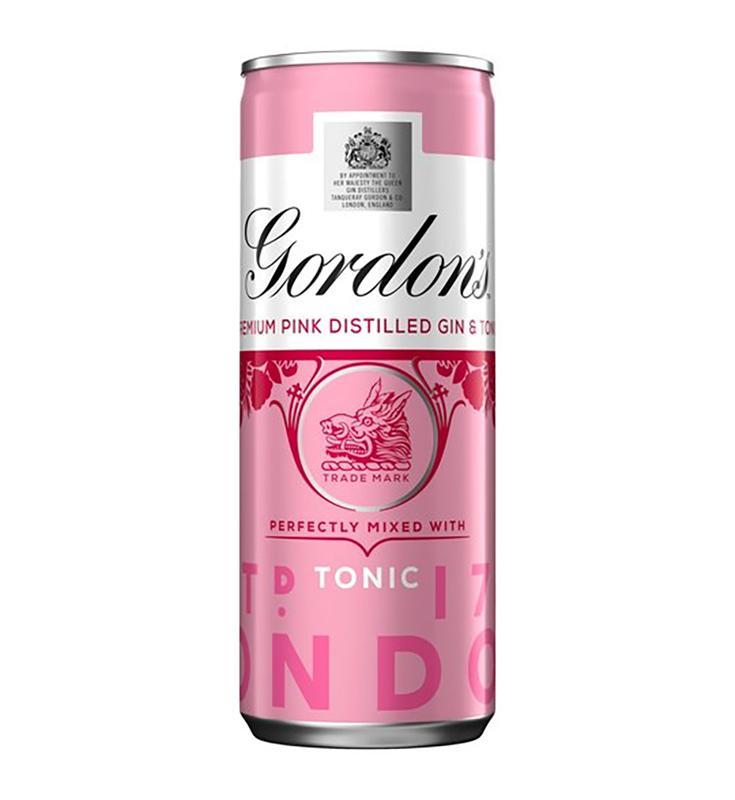Gordons Pink Gin & Tonic