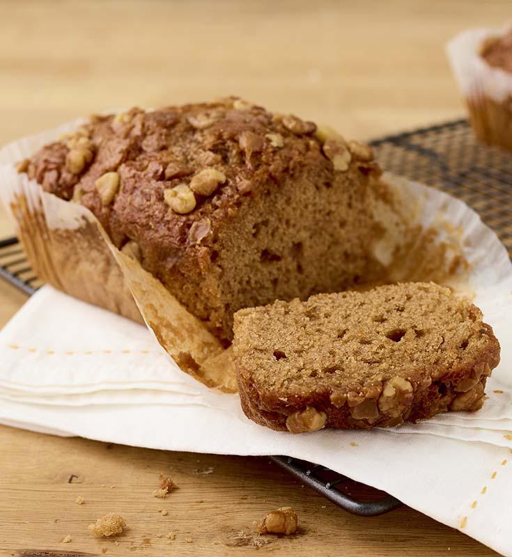 Toffee Walnut Cake
