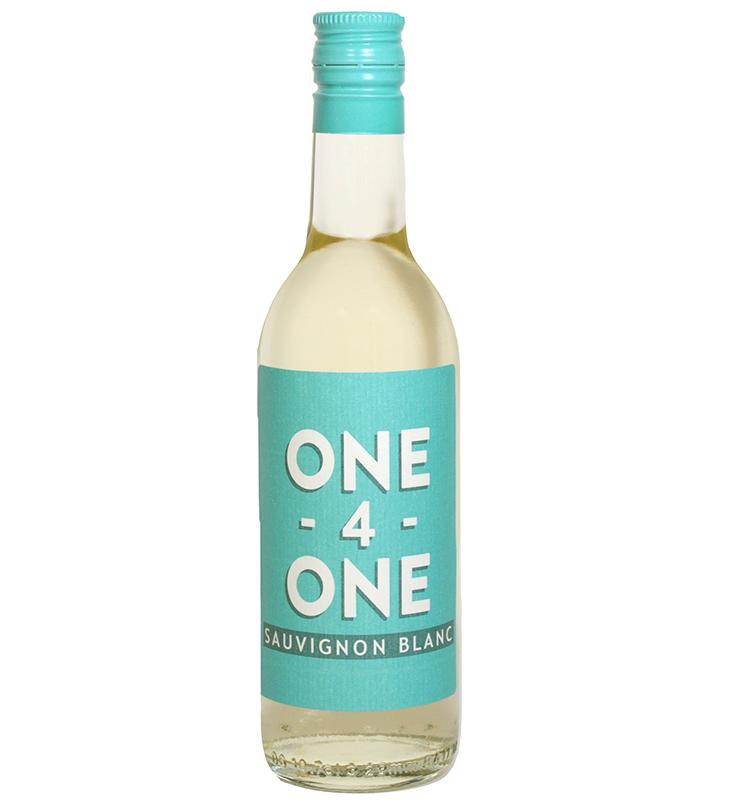 one white